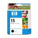 HP Ink Cartridge #15 Black C6615DA