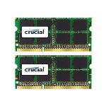 Crucial 16GB Kit for Mac (8GBx2) DDR3 1333 MT/s (PC3-10600) CL9 SODIMM 204pin 1.35V/1.5V for 2011 iMac Macbook Pro Mac Mini CT2K8G3S1339M