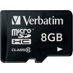 Verbatim UHS-I MicroSDHC Class 10 8GB