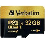 Verbatim Pro+ UHS-I MicroSDHC Class 10 32GB