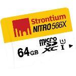 Strontium Nitro UHS-I MicroSDXC Class 10 566x 64GB