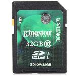 Kingston UHS-I SDHC Class 10 32GB