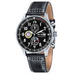 AVI-8 Hawker Hurricane Classic Chronograph Watch - Black