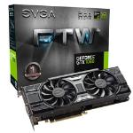 EVGA GeForce GTX 1060 FTW+ Gaming ACX 3.0 6GB GDDR5