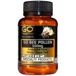 Go Healthy Go Bee Pollen 550mg $29.20 180 vegecaps