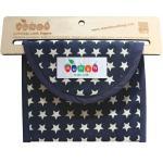 Munch Litter-less Lunch Bag - Blue Stars