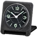 Seiko QHT015J Travel Alarm Clock Black QHT015J
