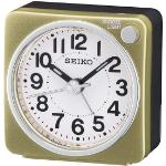 Seiko QHE118G Bedside Alarm Clock Gold QHE118G