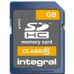 Integral SDHC Class 10 4GB