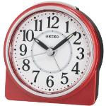 Seiko QHE137R Beep Alarm Clock with Snooze Red QHE137R