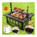 Ultimate 3-in-1 Extra Long Multi-Function BBQ Pit Table