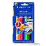 Staedtler Noris 12 Colour Pencil 144 10nc12 Colmst14410nc12