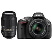 Nikon D5200 + 18-55/3.5-5.6 VR + 55-300/4-5.6 G ED