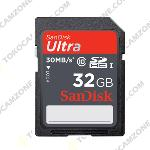 SanDisk Ultra UHS-I SDHC Class 10 30MB/s 32GB