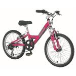 Bauer Roxxie 20&quote; 6 Speed Chrome Pink Cycle