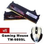 G.Skill RAM PC DDR3 [Sniper] F3-2133C10D-16GSR- 16GB (8GBx2) / DDR3-2133 (?????? Gaming Mouse TM-989SL)