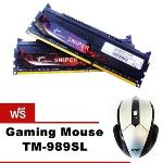 G.Skill RAM PC DDR3 [Sniper] F3-1600C9D-16GSR- 16GB (8GBx2) / DDR3-1600 (PC3-12800) CL9 (?????? Gaming Mouse TM-989SL)