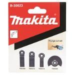 Makita Multi Tool Plunge Cut Blade Kit 4pc