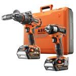 AEG 18V 2 Piece 6.0Ah Brushless Kit