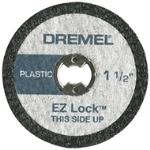 Dremel Cut Off Wheel Rotary Tool Accessory 1 1/2&quote; 5 Pack EZ476