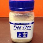 Flee Flea Dog Cat Nutritional Supplement 225g Jar