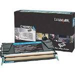 Lexmark Genuine C748H1CG Cyan Toner Cartridge (10K High Yield) [C748H1CG]