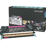 Lexmark Genuine C736H1MG Magenta Toner Cartridge High Yield 10K Pages [C736H1MG]