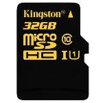 Kingston UHS-I MicroSDHC Class 10 32GB