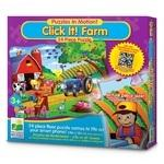 The Learning Journey Puzzle In Motion Click It Farm (24pc)