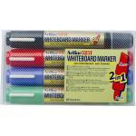 Artline Marker W/brd Dualnib 4 Pack