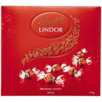 Lindt Lindor Milk Chocolates 150g