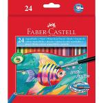 Faber Castell Faber-Castell Coloured Pencils Watercolour Full 24 Pack