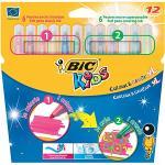 Bic Kids Colour & Create XL Felt Pens 12 Pack