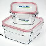 Glasslock Oven Safe Tempered Glass Food Container 405ml