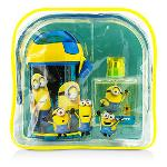 Air Val International Minions Coffret: EDT 50ml/1.7oz + Water Bottle + Backpack 2pcs+1bag