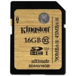 Kingston Ultimate UHS-I SDHC Class 10 16GB