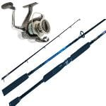 Shimano Sienna 4000F & Auratus PRO 4-8kg Softbait Combo With Braid