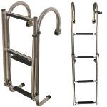Oceansouth SS Deck Mount Ladder - 2+2 Step