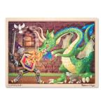 Melissa and Doug: Knight vs Dragon Jigsaw Puzzle