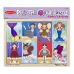 Melissa and Doug: Peek Through Puzzle Fairies and Friends
