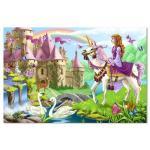Melissa and Doug: Fairy Tale Castle Floor Puzzle 48pc