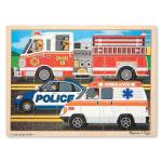 Melissa and Doug: To The Rescue Jigsaw Puzzle