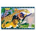 Melissa and Doug: Safari Social Floor Puzzle 24pc
