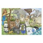 Melissa and Doug: Endangered Species Floor Puzzle