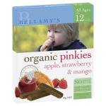 Bellamy\'s Organic Apple, Strawberry & Mango Pinkies