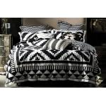 Coco Black Duvet Cover Set by Alex Perry ALPCOCOQBDSBLK