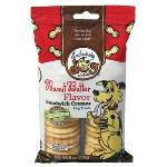 EXCLUSIVELY DOG SANDWICH CREMES-PEANUT BUTTER 8OZ 03500