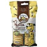 EXCLUSIVELY DOG SANDWICH CREMES-VANILLA 8OZ 02500