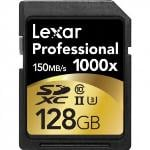 Lexar Pro UHS-II SDHC Class 10 1000x 32GB