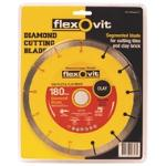 Flexovit Segmented Diamond Blade 180mm